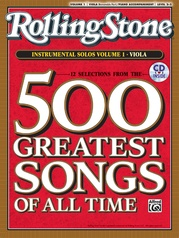 Selections from Rolling Stone Magazine's 500 Greatest Songs of All Time: Instrumental Solos for Strings, Volume 1