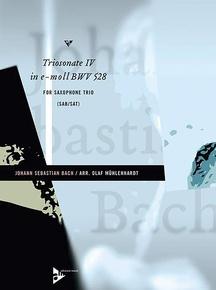 Triosonate IV in E Moll BWV 528