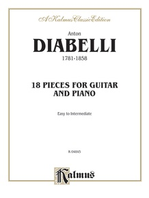 18 Pieces for Guitar and Piano (Easy to Intermediate)