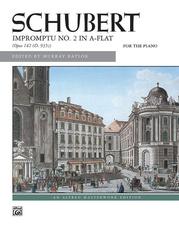 Schubert, Impromptu, Opus 142, No. 2