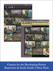 Classics for the Developing Pianist, Repertoire & Study Guide Book 1