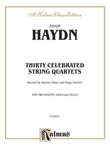 Thirty Celebrated String Quartets, Volume II