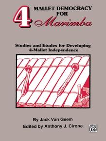 4 Mallet Democracy for Marimba
