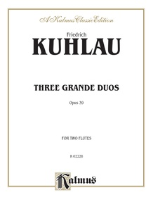 Three Grand Duos, Opus 39