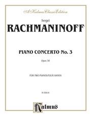 Piano Concerto No. 3 in D Minor, Opus 30