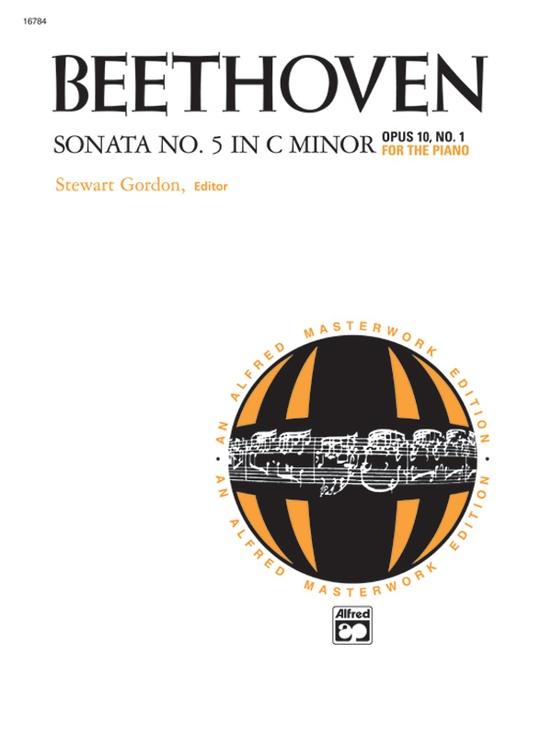 Beethoven: Sonata No. 5 in C Minor, Opus 10, No. 1
