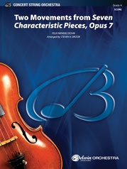 Two Movements from Seven Characteristic Pieces, Opus 7