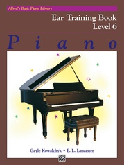 Alfred's Basic Piano Library: Ear Training Book 6