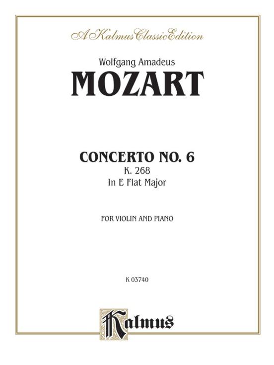 Violin Concerto No. 6, K. 268
