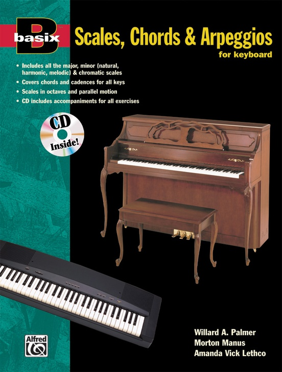 Basix®: Scales, Chords & Arpeggios for Keyboard