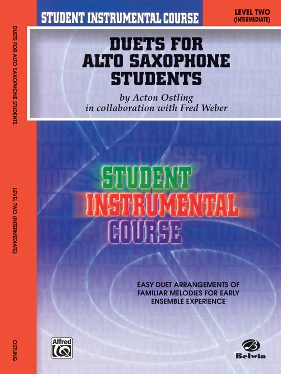 Student Instrumental Course: Duets for Alto Saxophone Students, Level II