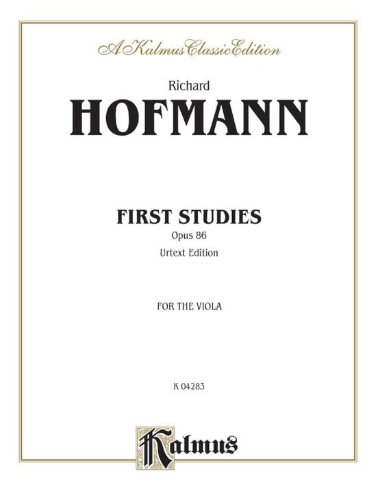 First Studies, Opus 86