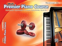 Premier Piano Course, Technique 1A