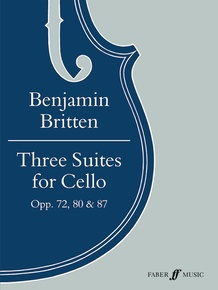 Three Suites for Cello, Opus 72, 80 & 87