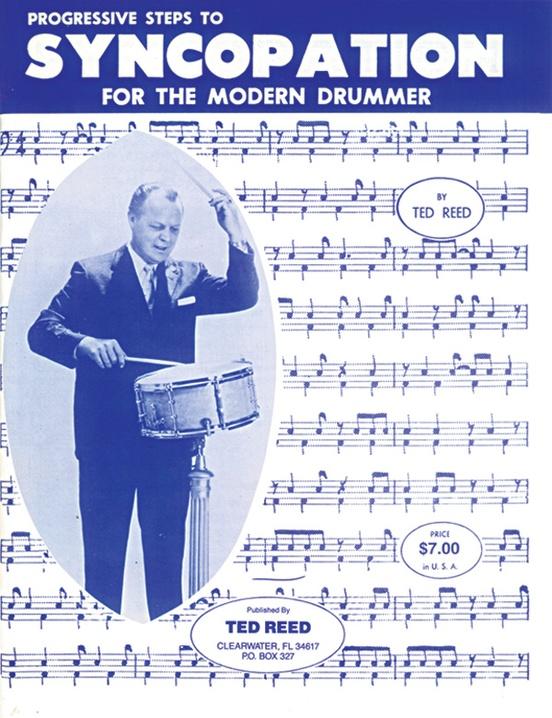 現代ドラマーのためのシンコペーション奏法(テッド・リード)(ドラム)【Progressive Steps to Syncopation for the Modern Drummer】