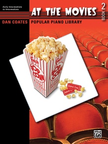 Dan Coates Popular Piano Library: At the Movies, Book 2