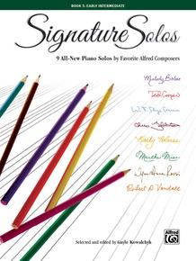 Signature Solos, Book 3