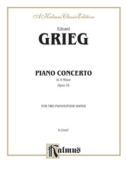 Piano Concerto in A Minor, Opus 16