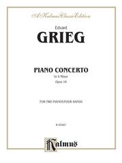 Piano Concerto in A Minor, Opus 16