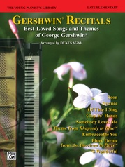 The Young Pianist's Library: Gershwin Recital Pieces, Book 14A