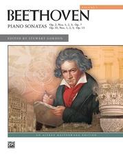 Beethoven, Piano Sonatas, Volume 1 (Nos. 1-8)