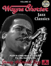 Jamey Aebersold Jazz, Volume 33: Wayne Shorter