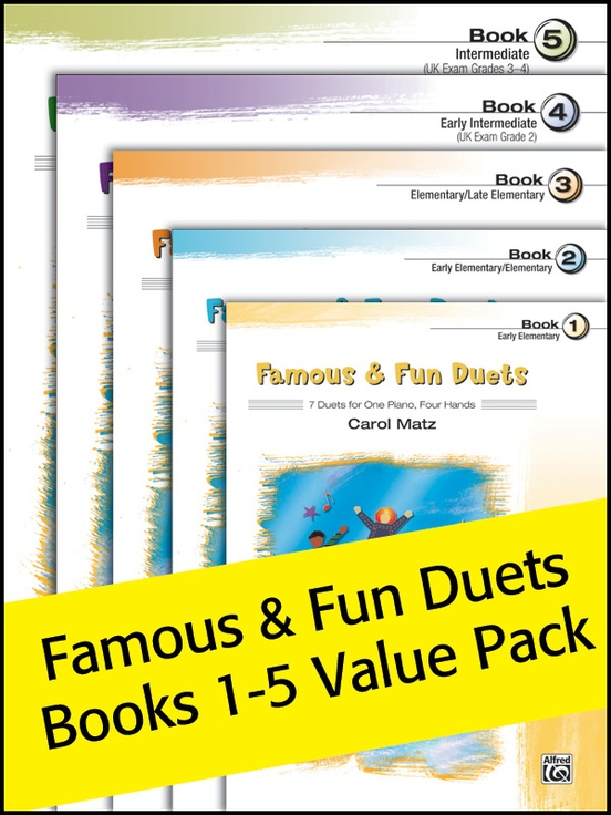Famous & Fun Duets 1-5 (Value Pack)