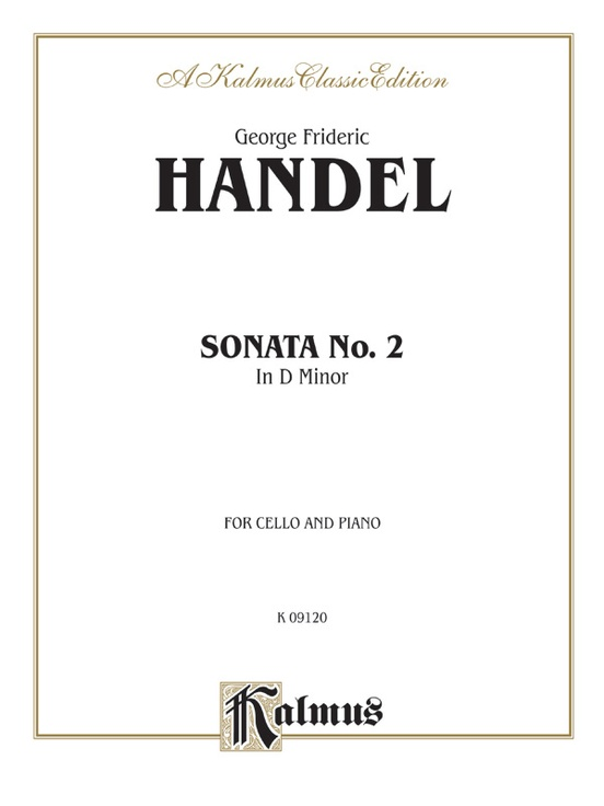 Sonata No. 2 in D Minor