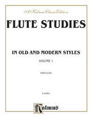 Flute Studies in Old and Modern Styles, Volume I