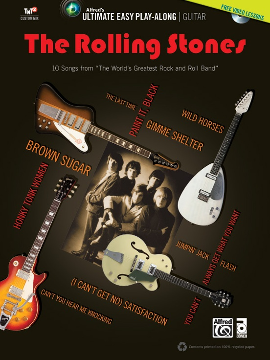 Ultimate Easy Guitar Play-Along: The Rolling Stones