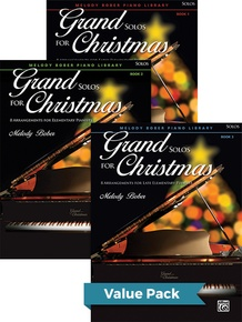 Grand Solos for Christmas 1-3 (Value Pack)