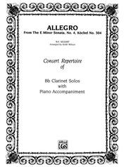 Allegro (from E Minor Sonata #4)