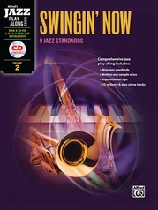 Alfred Jazz Play-Along Series, Vol. 2: Swingin' Now