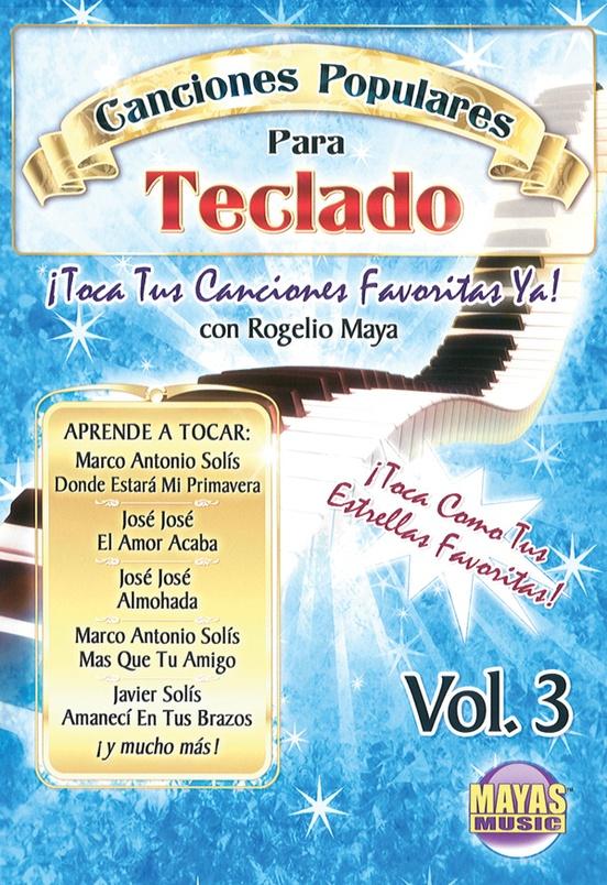 Canciones Populares Para Teclado Vol. 3