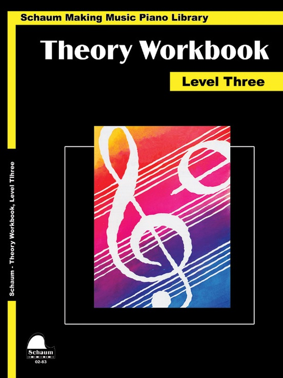 Theory Workbook, Level 3
