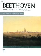 Beethoven: Eleven Bagatelles, Opus 119 for the Piano