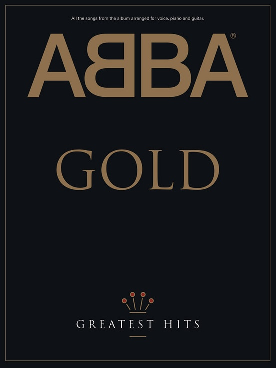Abba Gold Greatest Hits Pianovocalchords Book Abba