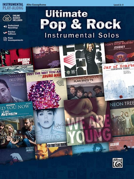 究極のポップ&ロック・ソロ曲集(アルトサックス)【Ultimate Pop & Rock Instrumental Solos】