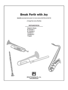 Break Forth with Joy