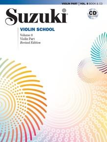 Suzuki Violin School Violin Part & CD, Volume 8 (Revised)