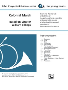Colonial March (Based on Chester)