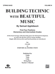 Building Technic With Beautiful Music, Book III