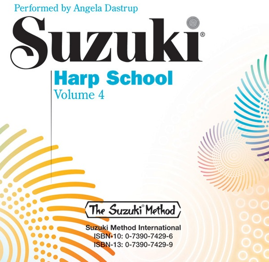 Suzuki Harp School CD, Volume 4