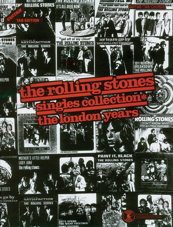 The Rolling Stones Singles Collection The London Years Guitartab