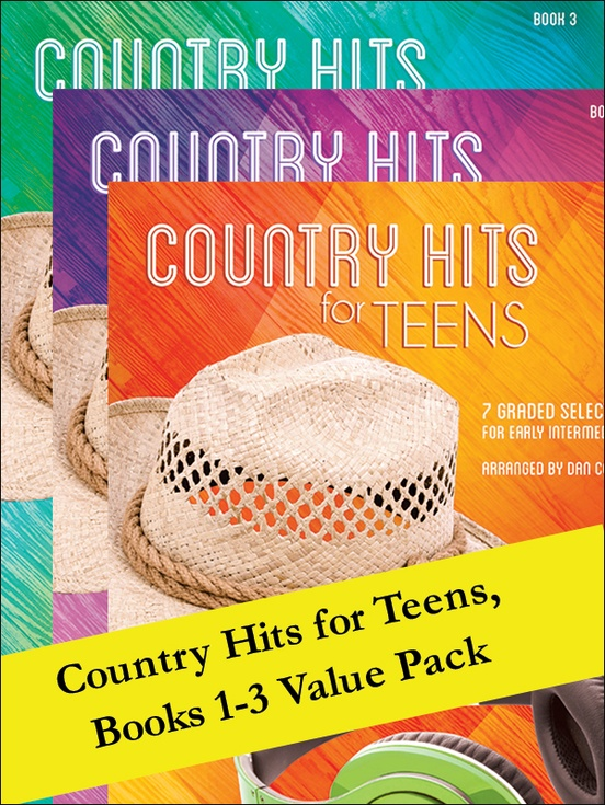 Country Hits for Teens 1-3 (Value Pack)