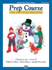 Alfred's Basic Piano Prep Course: Christmas Joy! Book E