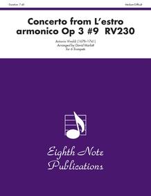 Concerto (from <i>L'estro Armonico,</i> Op 3 #9 RV230)