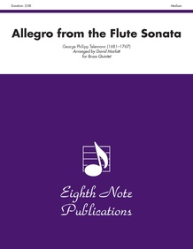 Allegro (from the Flute Sonata)