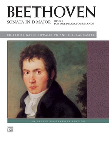 Beethoven: Sonata in D Major, Opus 6