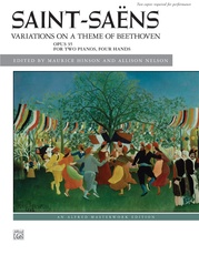 Saint-Saëns: Variations on a Theme of Beethoven, Opus 35